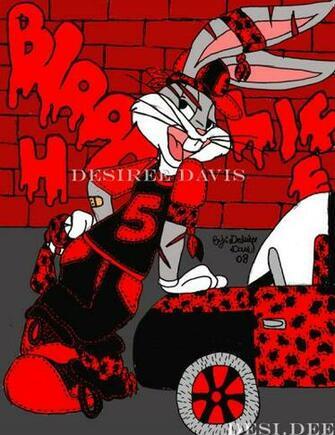 Gangsta Bugs Bunny by ladydesidee