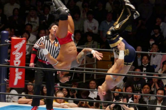 Heres a GIF rundown of the Will Ospreay vs Ricochet match