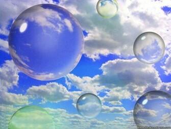 Desktop Wallpapers 3D Backgrounds Sky Bubbles www
