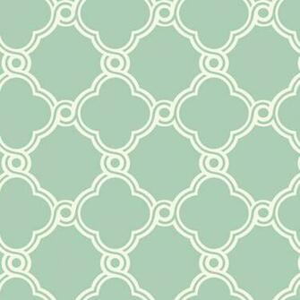 White with Green Open Trellis Wallpaper   Wall Sticker Outlet