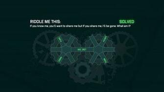 you can activate riddler s machine and solve a riddle