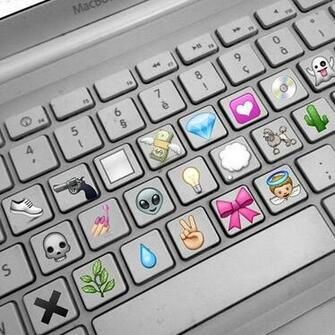 cute emojis background Tumblr