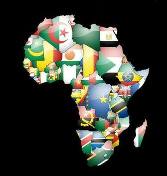 Africa Map Wallpaper