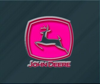 Gallery Pink John Deere Logo Wallpaper