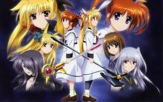 Magical Girl Lyrical Nanoha HD Wallpaper Background Image