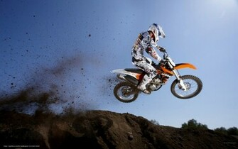 Download wallpaper KTM Motocross SX 350 SX F 350 SX F 2011