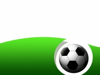 PPT Backgrounds Soccer Background Vector