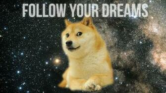 Doge in SPACE   Doge Wallpaper 1920x1080 14011