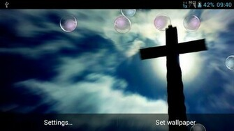 View bigger   Jesus Cross Live Wallpaper for Android screenshot