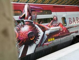 graffiti on train wallpapers and images   wallpapers pictures photos