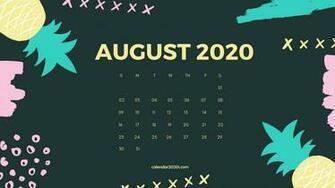 53] Calendar 2020 Wallpapers on WallpaperSafari