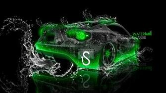 Scion FR S Water Car 2013 Green Neon HD Wallpapers design by Tony