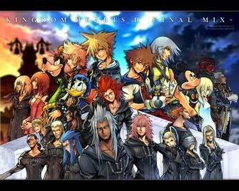 Kingdom Hearts Wallpaper PSP Gear   PSP Games Download