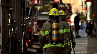 Firefighter Streets Urban Fireman Wallpaper firemans on