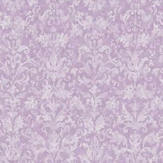 Distressed Damask Purple Prepasted Wallpaper   Wall Sticker Outlet