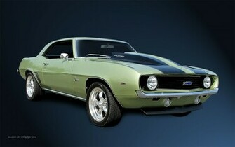 chevrolet camaro 1440x900 wallpaper right front view chevy muscle cars