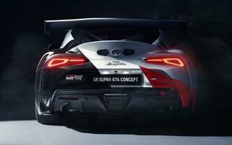2019 Toyota GR Supra GT4 Concept   Wallpapers and HD Images Car
