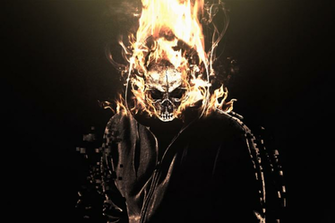 Flaming Skull Manipulation Wallpaper by RCDezine