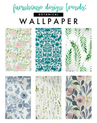 Modern Farmhouse Design Trend Wallpaper Farmhouse Modern