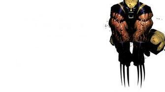 Wolverine Marvel Comics white background wallpaper 1920x1080