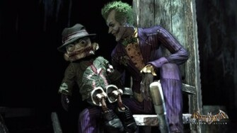 Batman Arkham Asylum   Joker Scarface puppet 1920x1080 wallpaper
