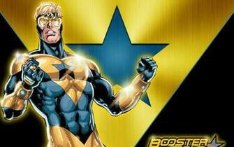 Booster gold Dc comics Superhero Wallpaper Background Ultra HD 4K