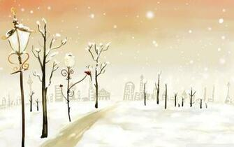 Cute Winter Desktop Background HD 1920x1200 deskbgcom