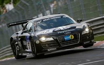 Wallpaper Audi R8 LMS Audi Sponsoren track Rennwagen groe