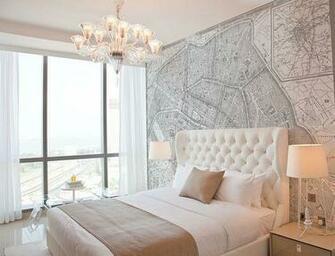 Custom Printed Map Wallpaper Murals Decorating tips Pinterest