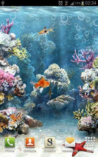 Download Wallpaper   phone compare heavy aquarium live wallpapers