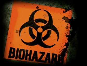 Biohazard Warning Signs Logo HD Wallpapers Desktop Wallpapers