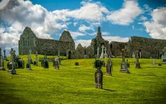 Clonmacnoise Monastery Wallpaper and Background Image 1680x1050
