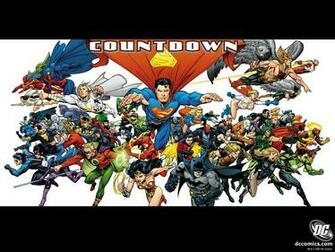 Justice League   Countdown   DC Comics Wallpaper 5344583