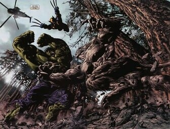 Comics marvel wolverine hulk wolverine hulk super heroes battle