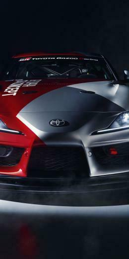Toyota GR Supra GT4 concept car 2019 1080x2160 wallpaper