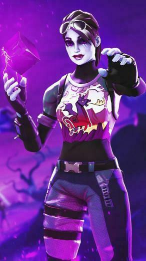 Dark Bomber Fortnite Skin Wallpaper in 2020 Best gaming