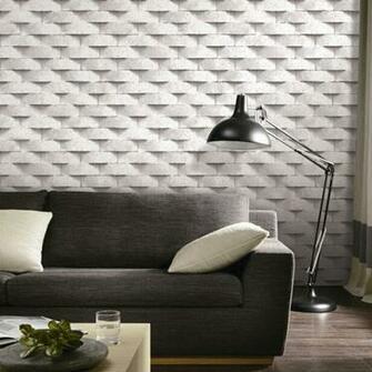 Brick 3D wallpaper grey beige stone wall paper papel de parede 3d