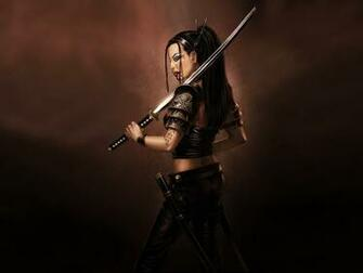 Women Samurai Wallpaper 1600x1200 Women Samurai