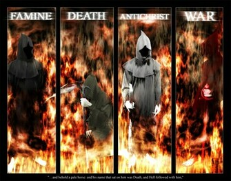 Names Of The Four Horsemen Of The Apocalypse The four horsemen of