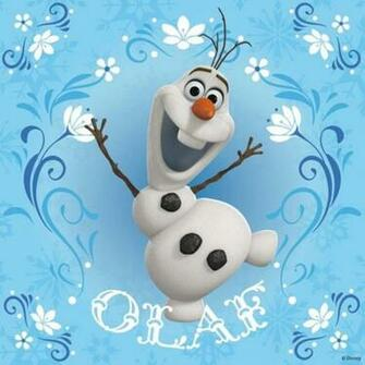 Olaf from Disneys Frozen Wallpaper for Apple iPad Mini