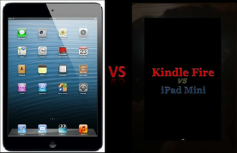 The comparison of the Kindle Fire HD and iPad Mini discusses the Top 5