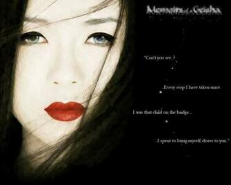 Memoirs of a Geisha Wallpaper by CelestiStar
