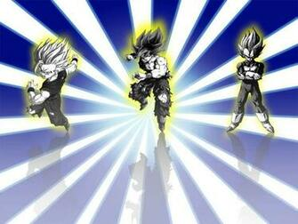 ssj Goku Vegeta and Gohan   Dragon Ball Z Wallpaper 21652367