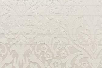 White Wall With Embossed Vintage Pattern Texture High Resolution 4096