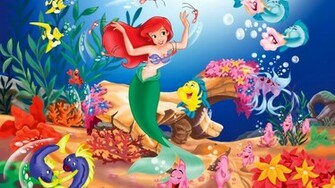Disney The Little Mermaid Wallpapers HD 19201080 HD Desktop