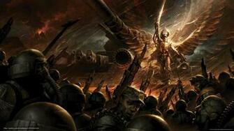 wallpaper warhammer 40 000 warriors weapon desktop wallpaper