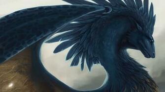 Download wallpaper 3840x2160 dragon fantasy art feathers 4k uhd