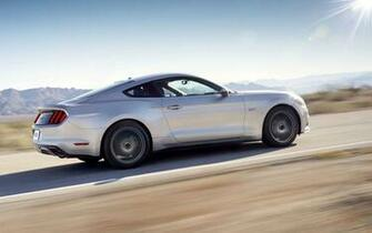2015 Ford Mustang Silver Motion 7 1920x1200 Wallpaper