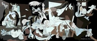 Picasso Guernica Wallpaper