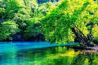 photo of Blue Lagoon Jamaica water wallpaper desktop background image